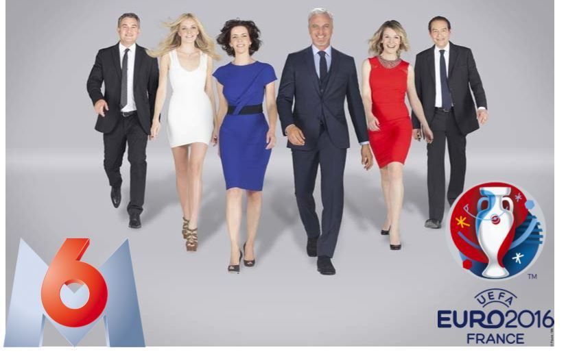 [Euro 2016 Foot] Le dispositif TV complet de M6 !