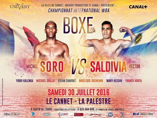 [Infos TV] Boxe - Les Boxeurs Français à l'honneur ce samedi 30 juillet à 20h45 en direct et en exclisivité sur Canal Plus !