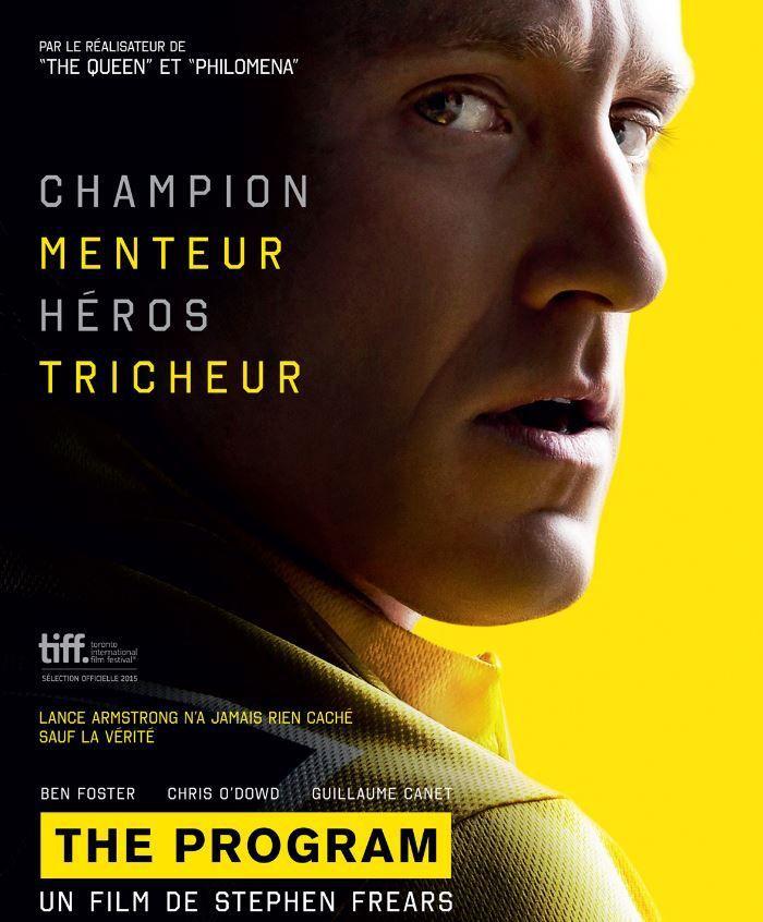[Mar 19 Juil] Le film sur Lance Armstrong &quot&#x3B;The Programm&quot&#x3B; à suivre en première diffusion à 20h55 sur Canal Plus !