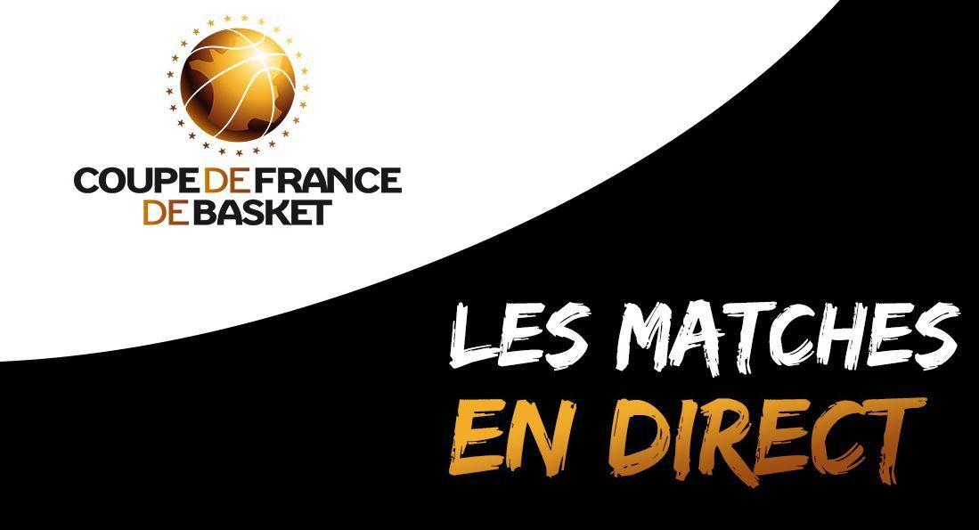 [Infos TV] Basket - Tous les matchs des 1/8èmes de Finale de Coupe de France à suivre en direct ce week-end !