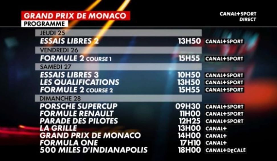 grille programme canal plus
