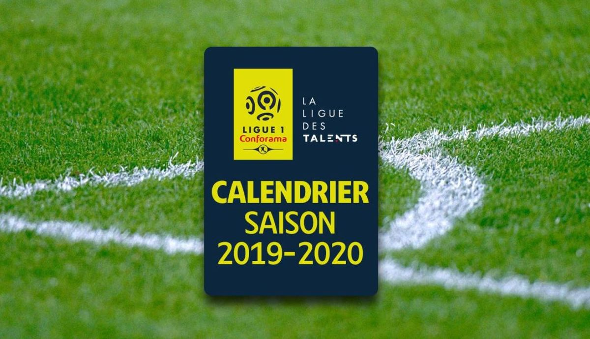 Foot Calendrier Ligue 1.Foot Ligue 1 Saison 2019 2020 12 Affiches Deja Programmees