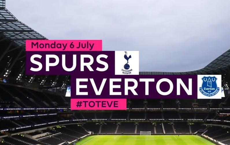 Tottenham Everton En Direct Ce Lundi Sur Rmc Sport 1 Et Canal Sport