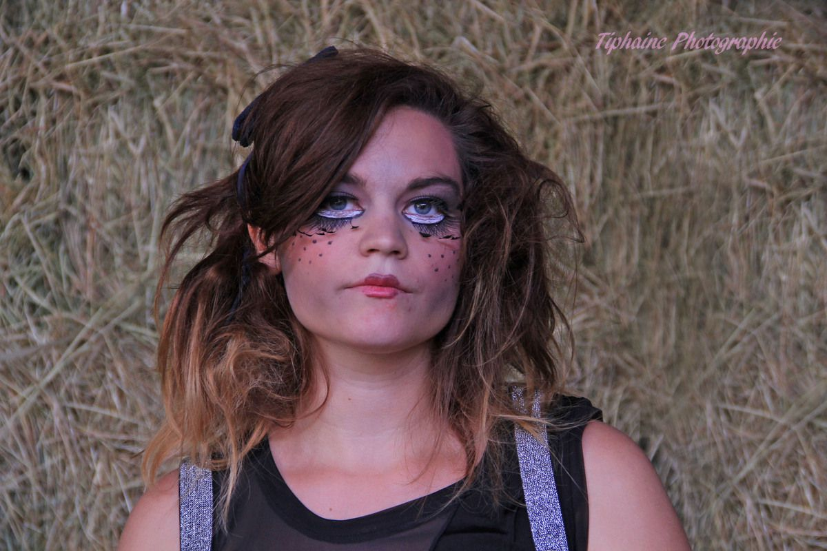 Shooting photo / photographe / maquillage / coiffure