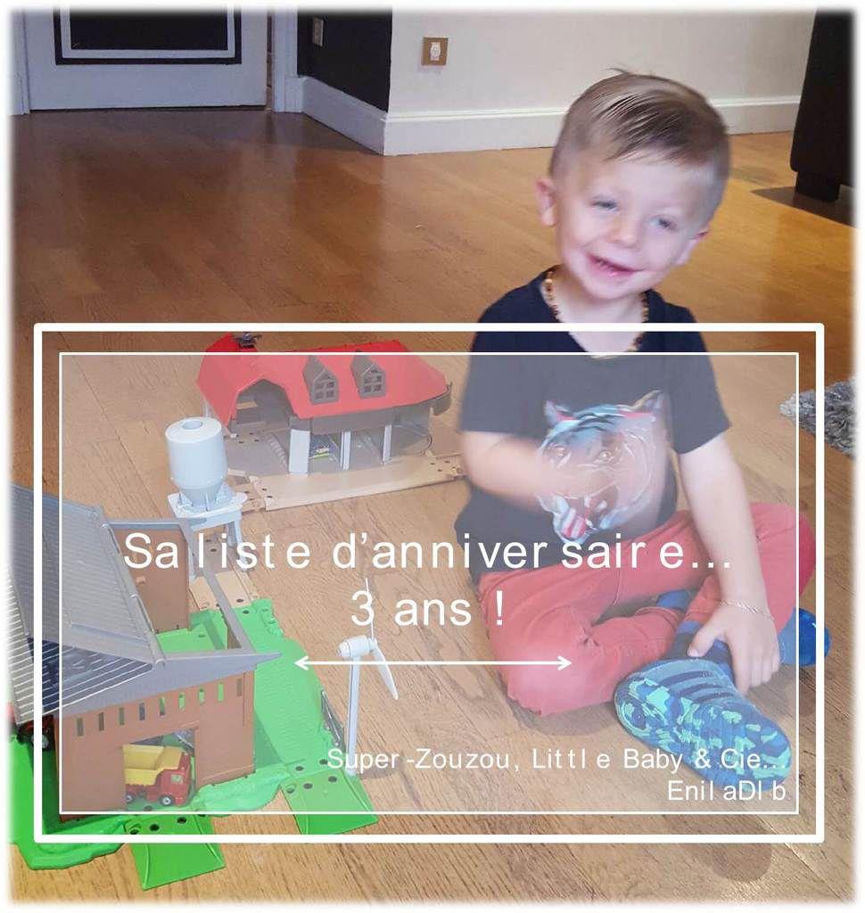 Nos idées cadeaux pour les 3 ans de Little Baby…