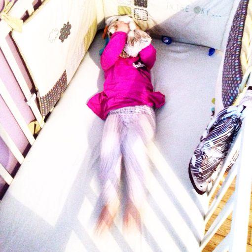 Je veux pas dormir, je suis pas fatiguée