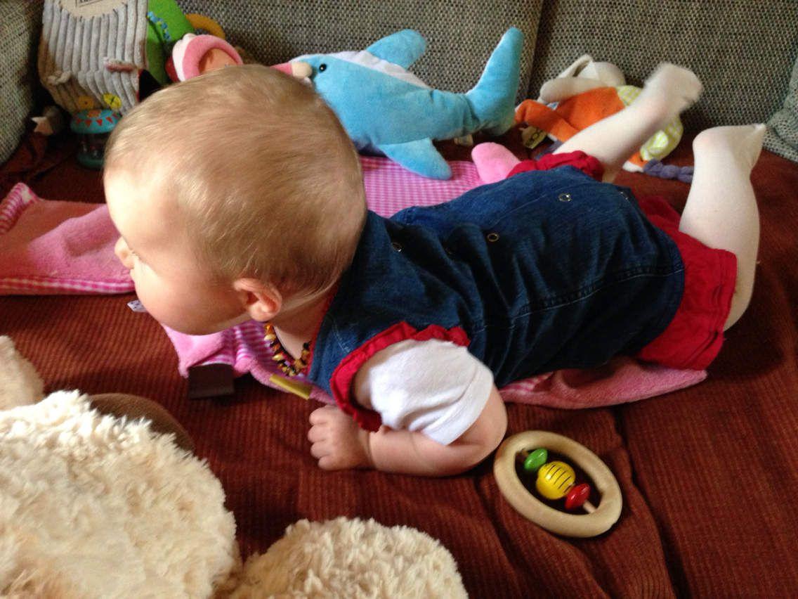 Mode bébé : la robe en jean