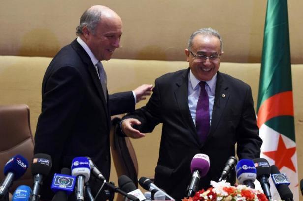 Les ministres des AE à Alger