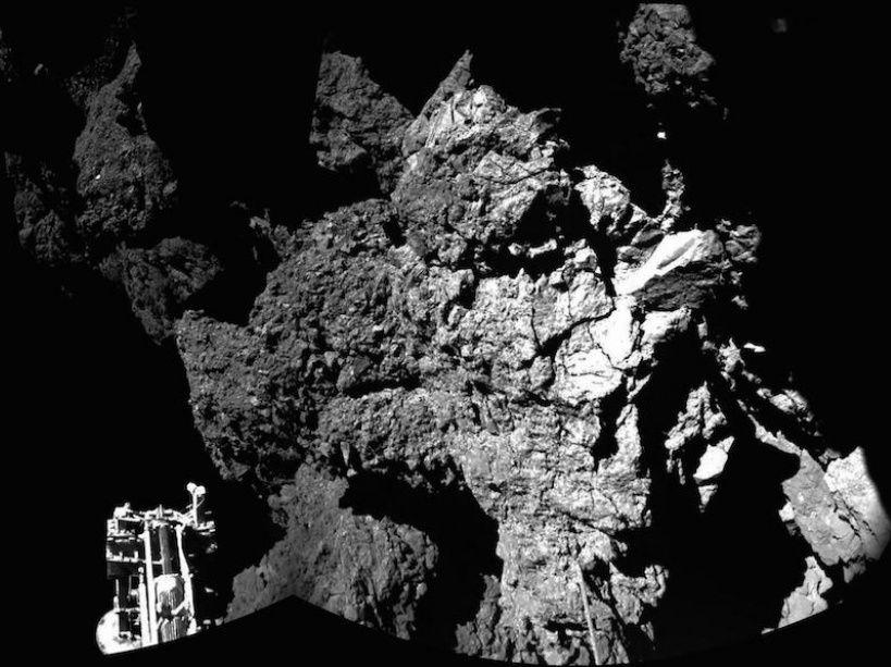 Philae photographié par Rosetta