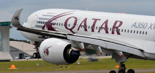 Un A350 aux couleurs de Qatar Airways