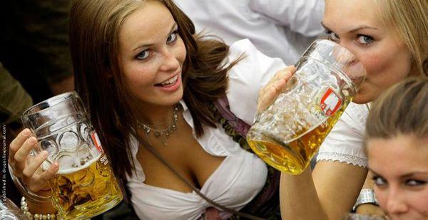 Même les Femmes se mettent à la bière