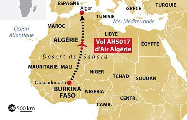 Algérie - Victimes du crash du vol AH5017 : Air Algérie interpellée