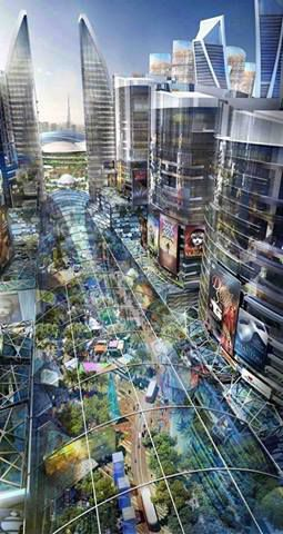 &quot&#x3B;The Mall of the world&quot&#x3B;, situé à Dubaï, sera le plus grand centre commercial du monde