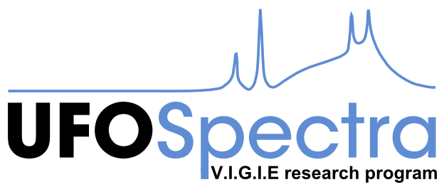 """UFOSpectra V.I.G.I.E research program"""