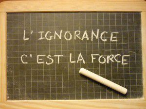 Ignorance programmée