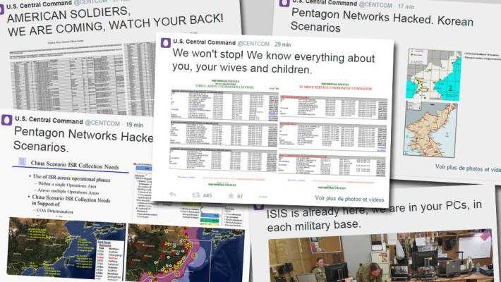 L'EI pirate le compte Twitter du commandement militaire américain au Moyen-Orient