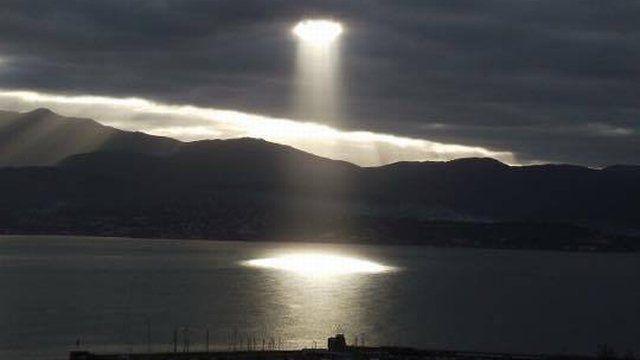 Trouée dans le ciel ajaccien : la photo qui fait le buzz sur Facebook