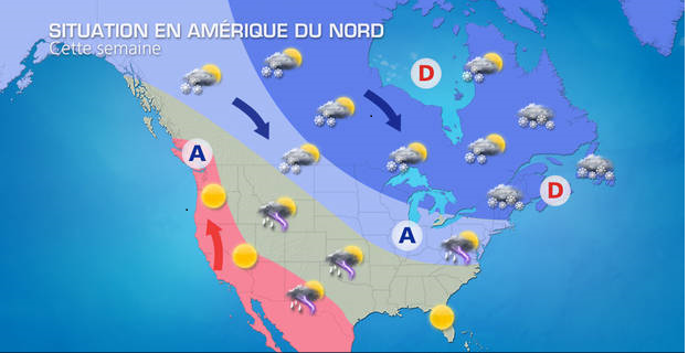 Jusqu'à -50°C en Amérique du nord : vague de froid extrême