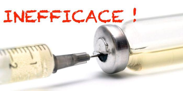 Grippe 2015 en France : inefficacité record du vaccin et doutes grandissants