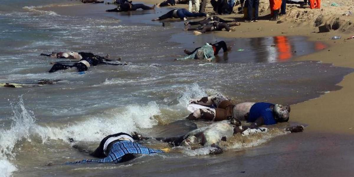 African immigrants bombarded by Egyptian Navy: War crime off the Mediterranean