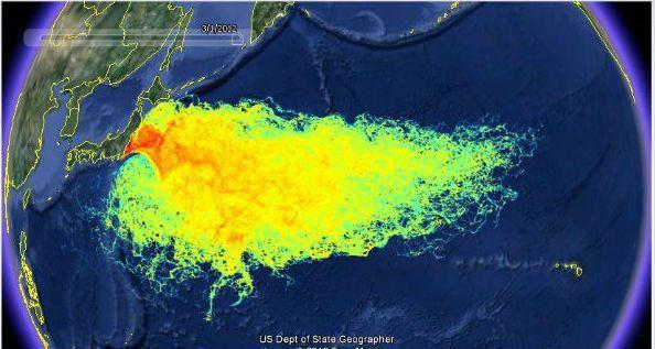 Fukushima: 5 ans après un tiers des océans gravement contaminés