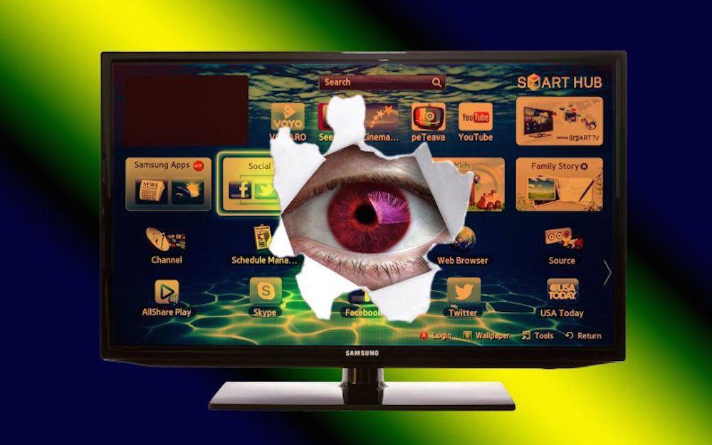 SAMSUNG PRÉVIENT : NE DITES RIEN DE TROP PERSONNEL DEVANT VOTRE TV !
