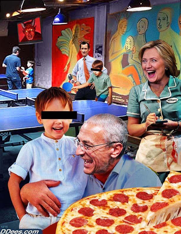 Pizzagate: une folle rumeur relayée par de nombreux sites alternatifs!