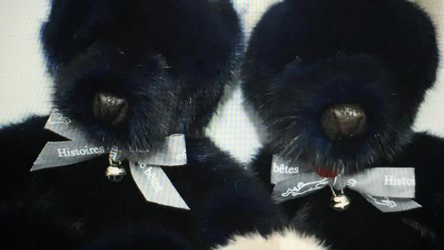 Une marque française vend des peluches en véritable fourrure animale