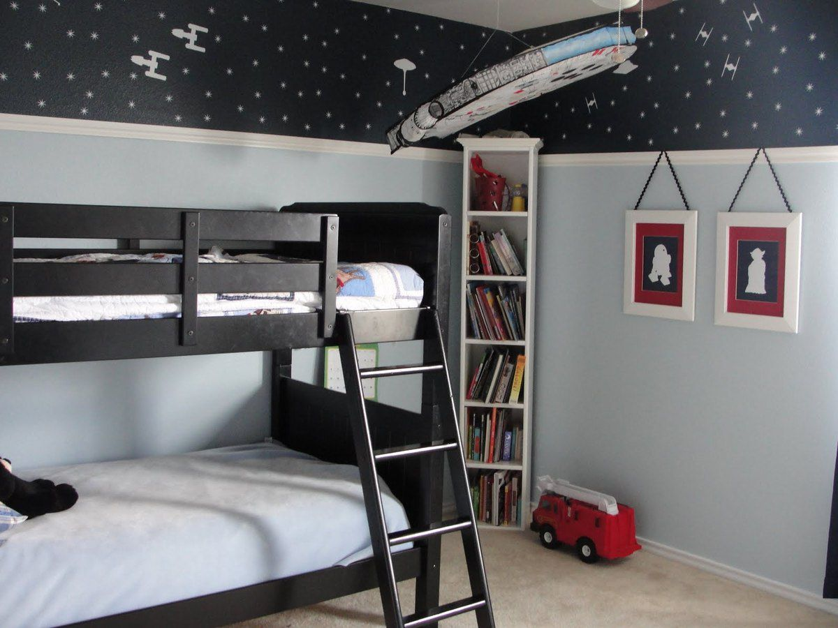 d co chambre star wars. Black Bedroom Furniture Sets. Home Design Ideas