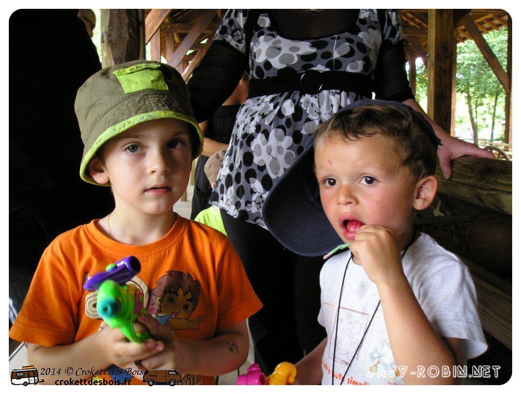 Vacances été 2008 avec mes neveux et filleuls
