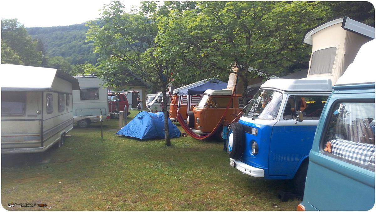1er Rassemblement de VW Franco-Suisses en Franche-comté à LODS - 19 au 21 juin 2015