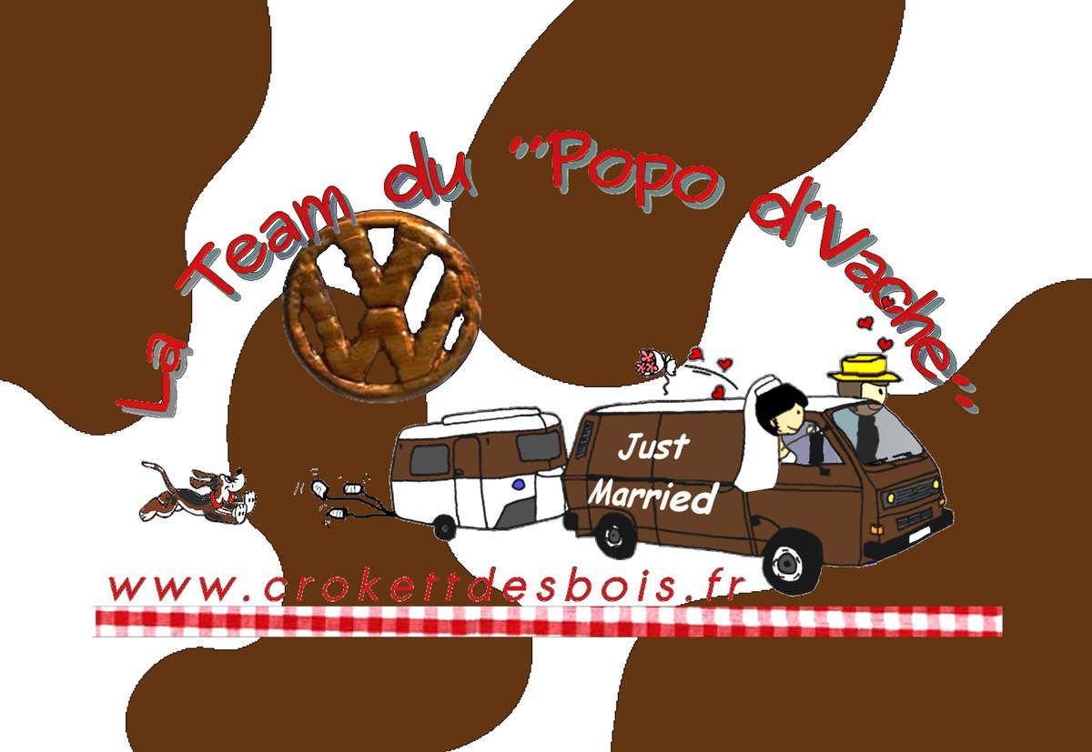 Un nouveau logo pour le Popo d'Vache et son équipage