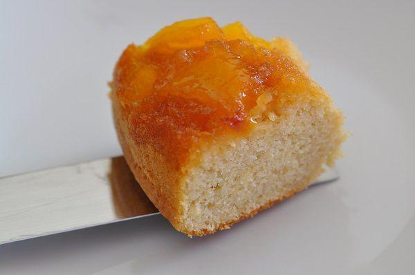 Gâteau renversé aux nectarines (ou pêches)
