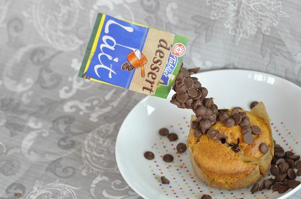 """Gravity muffin"" ou le muffin en suspension"