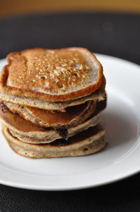 Pancakes à la farine de noisette