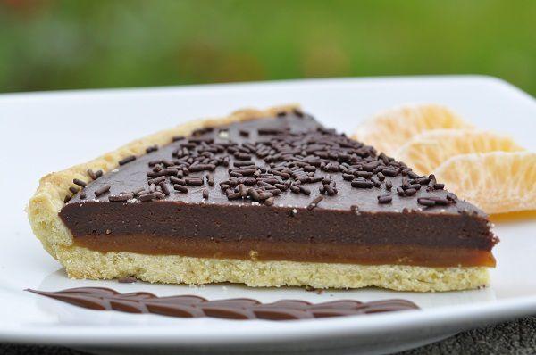 Tarte Au Chocolat Et Caramel Au Beurre Sale Blog Cuisine Avec Du