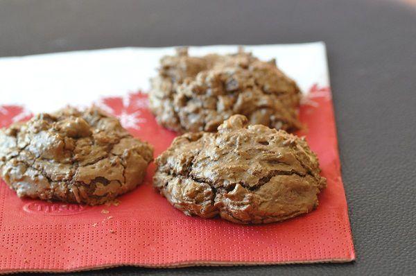 """Cookies moelleux très """"chocolat"""""""