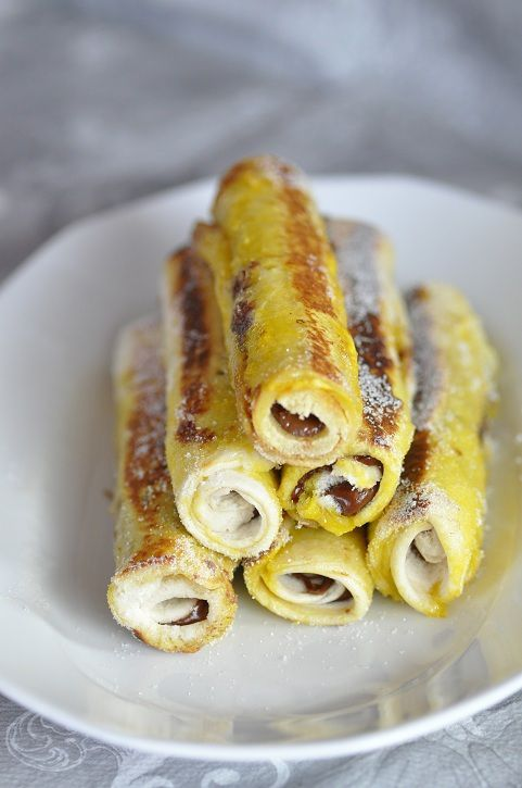 French toast roll ups Only For You Celine !