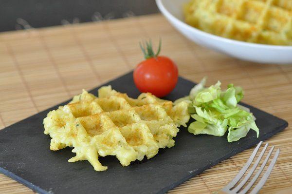 Gaufres de pommes de terre au thermomix (ou pas)