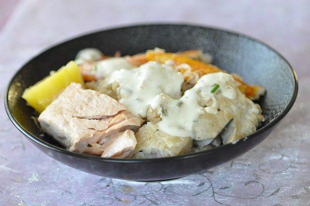 Choucroute de la mer (choucroute au poisson) 3 modes de cuisson