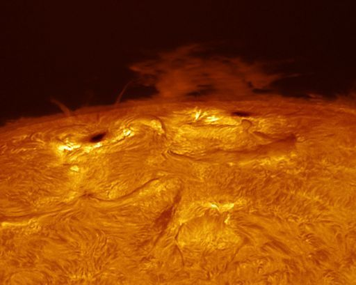 spaceweather DELAYED IMPACT? 13 or 14 june 2014