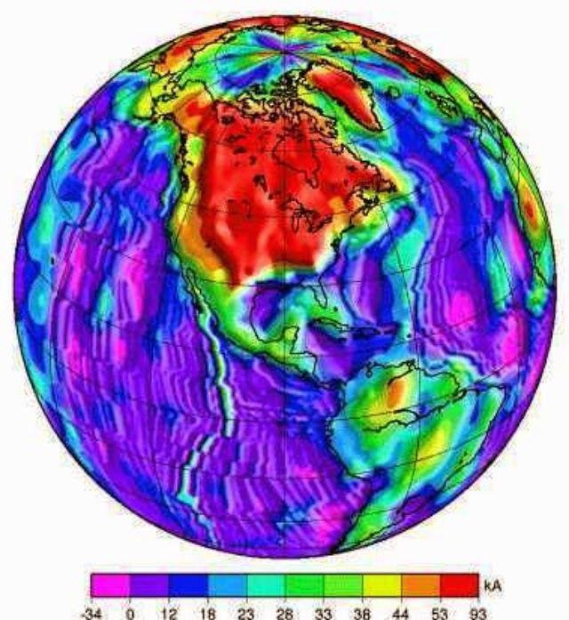 Migration polaire magnétique - Russie Rapport Grim Sur les anomalies magnétiques en Amérique du Nord!