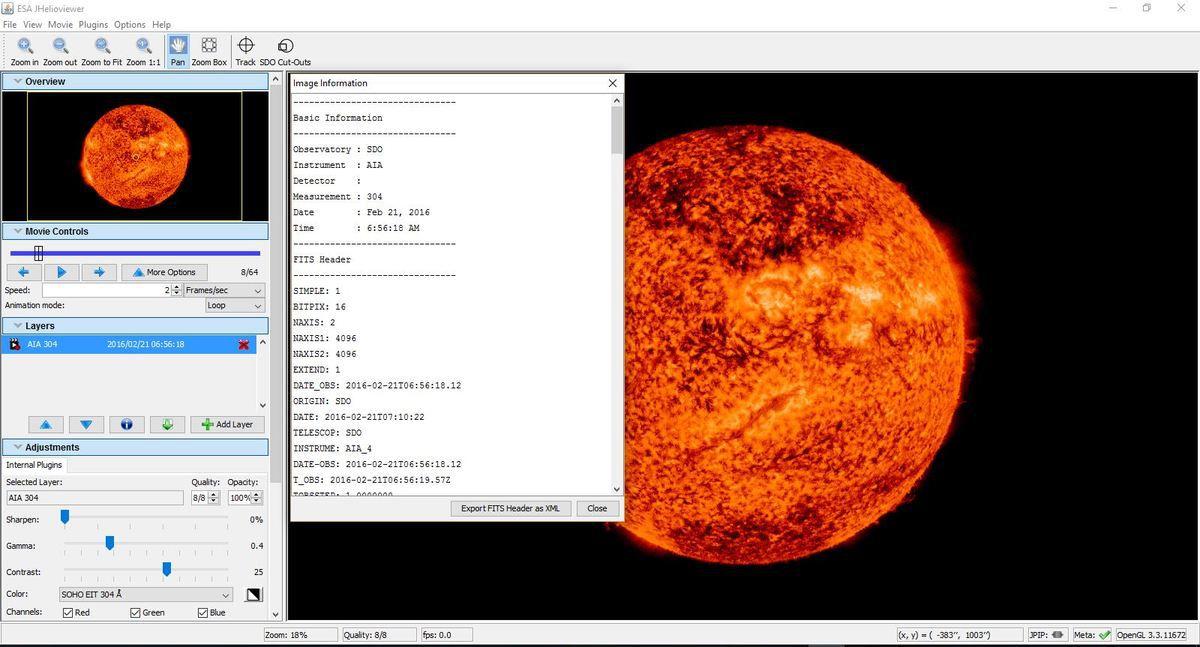 Ou est situé le Solar Dynamics Observatory (SDO)