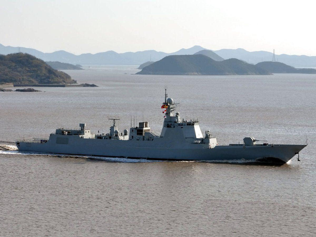 Resultado de imagen de Tipo 052D Luyang III,