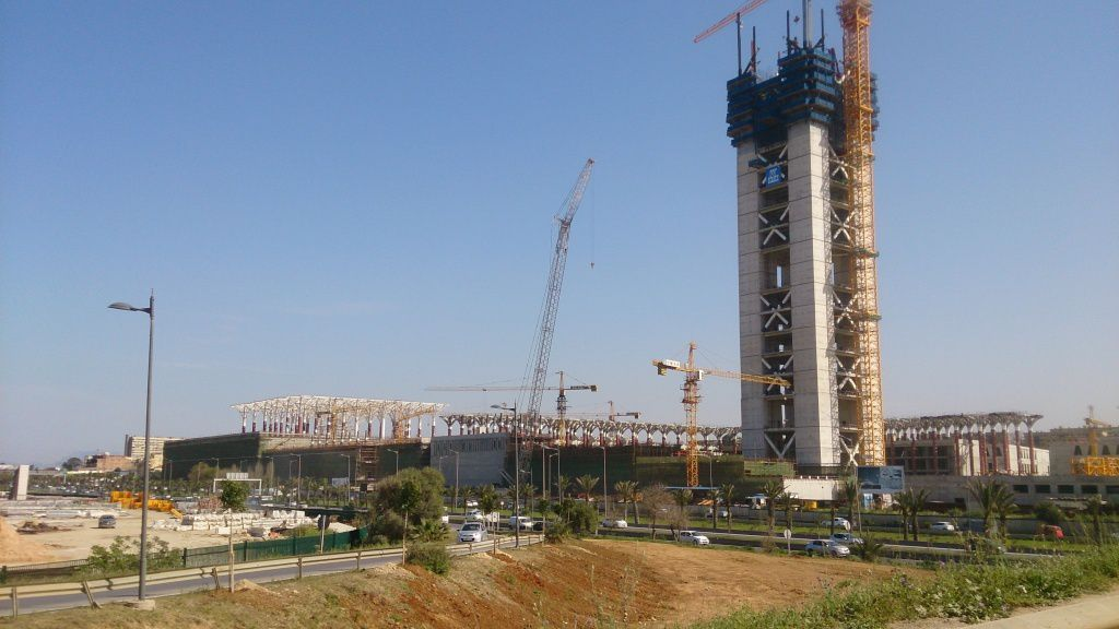 Algiers Great mosque works progress update (16/04/2016)
