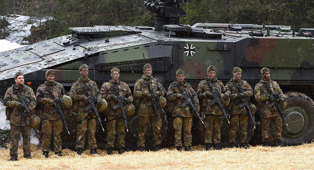 Germany Will Deploy Troops in Lithuania to 'Contain' Russia