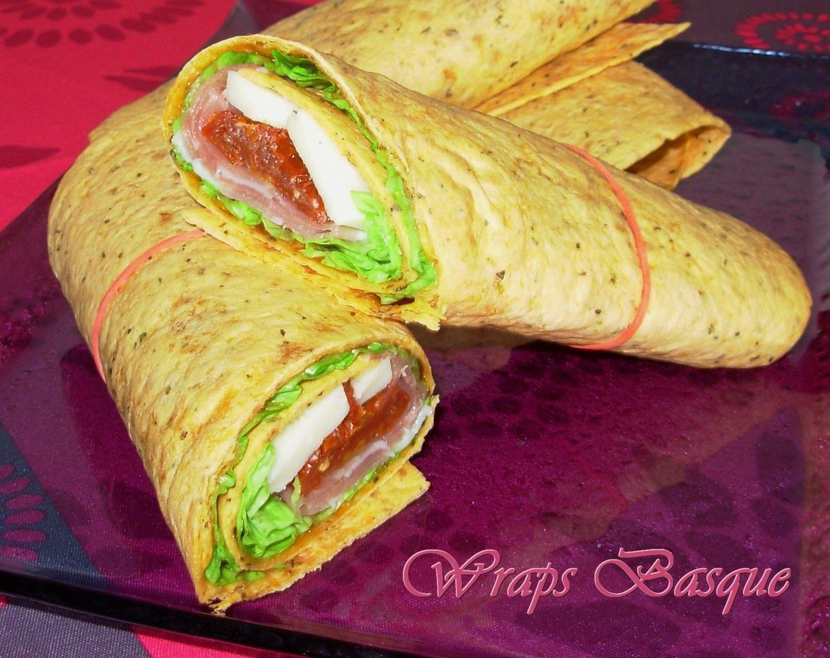 Wraps Basque