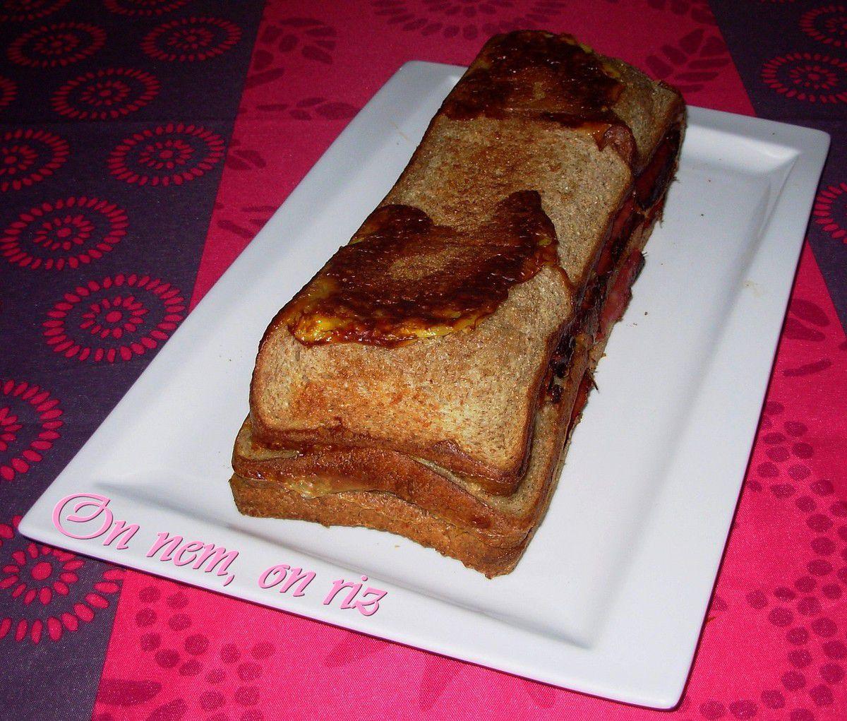 Cake Roquefort Jambon Creme Liquide