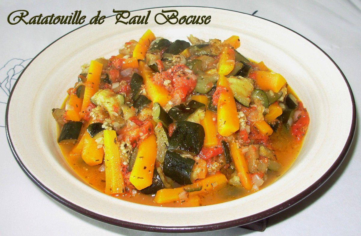 Ratatouille de Paul Bocuse