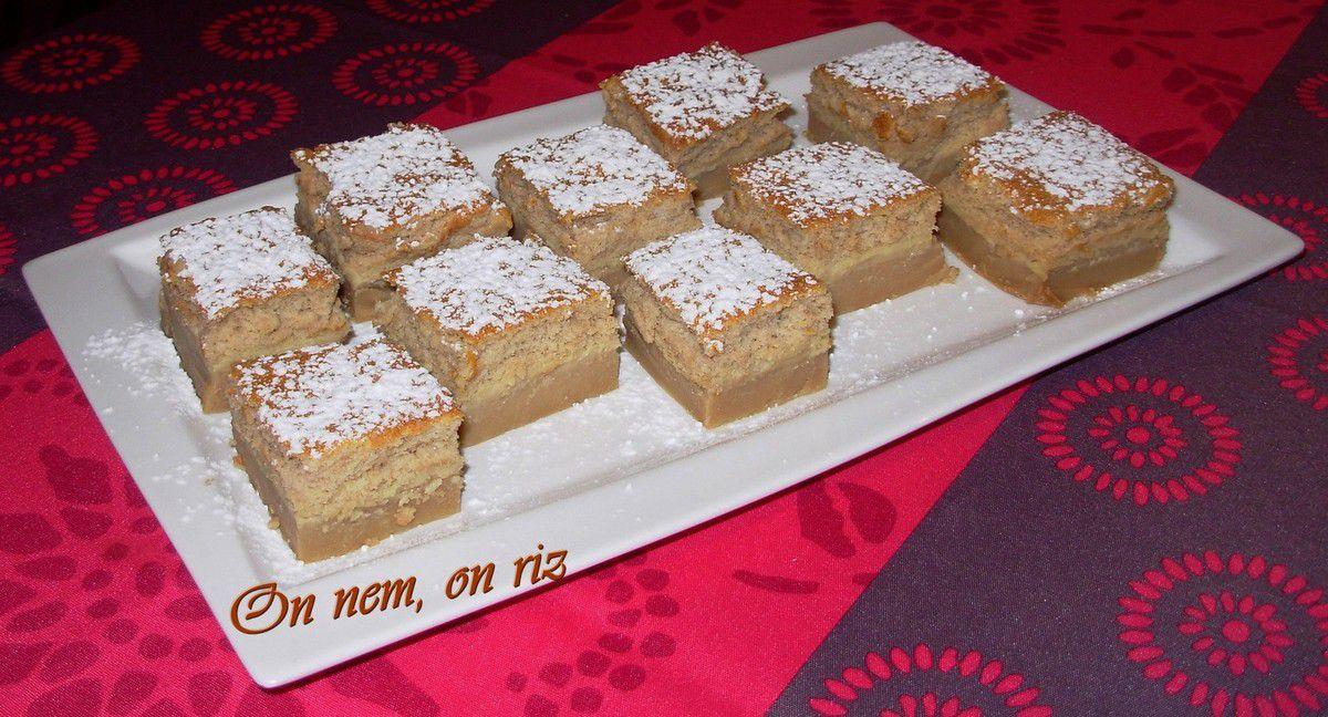 Gâteau magique aux Carambar